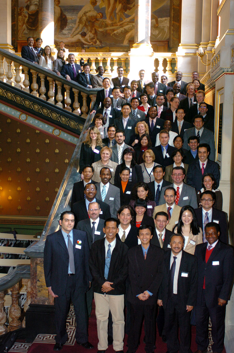 "This was ""Visit Government Day,"" March 15, 2006. All Chevening Fellows from 7 regions — Asia Pacific, South Asia, South America, Africa, Eastern Europe, Middle East and North Africa — came for a meet and greet at the Foreign and Commonwealth Office at King Charles Street, London."