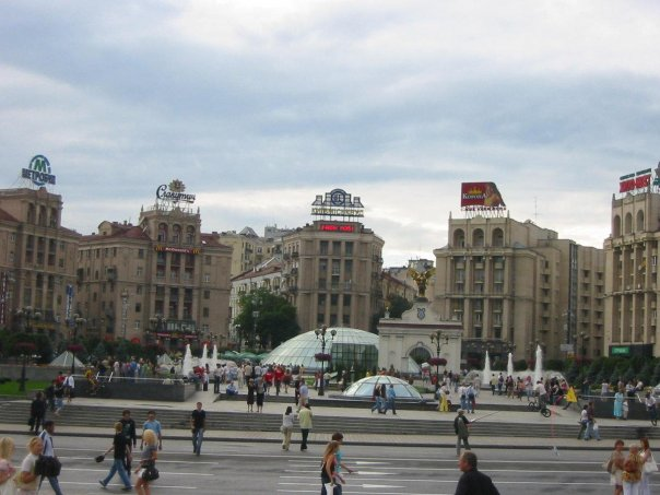 This is where Ukraine's recent history has been shaped many times over. Following peaceful street revolutions in the Philippines and elsewhere, resulting in the ousting of the incumbent, this place is ground zero for the Orange Revolution and its other permutation. It is also referred to as Maidan Square.