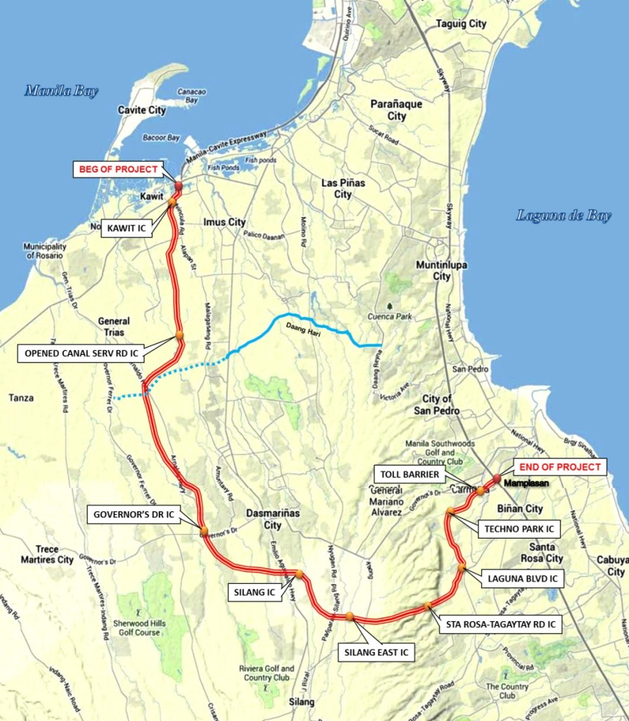 A winner, finally.  Metro Pacific Investment Corp, outbids San Miguel Corp in the recently concluded bid for the Cavite-Laguna road project. (Photo sourced from www.dpwh.gov.ph)